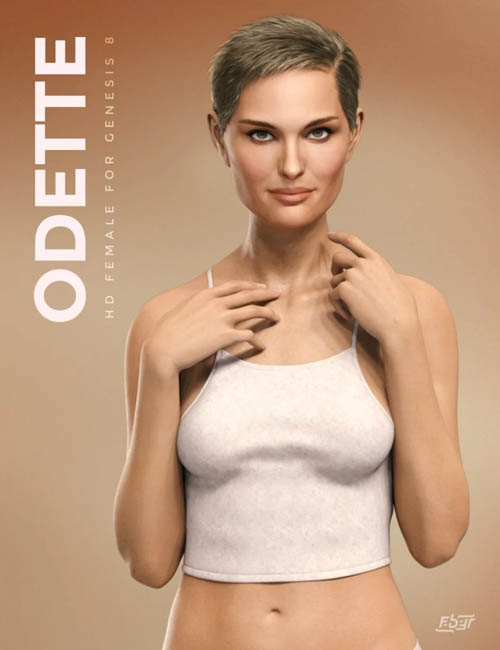 Odette for Genesis 8 Female