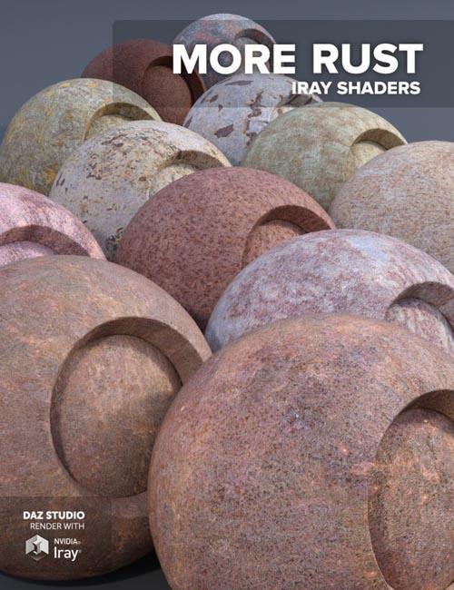 More Rust - Iray Shaders