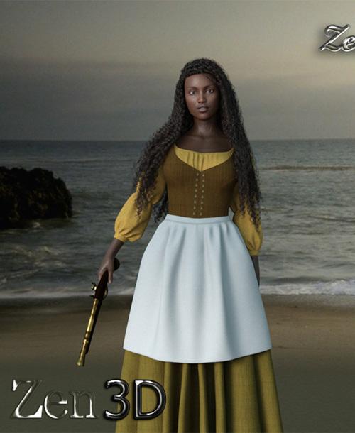 Zeva For Genesis 8 Female