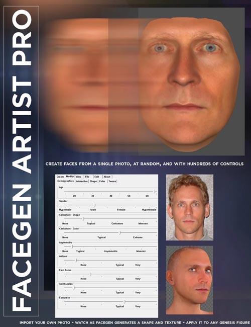 FaceGen Artist Pro 2.1 WIN x32-x64