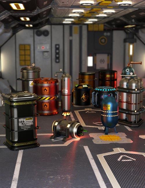 Sci-Fi Barrels