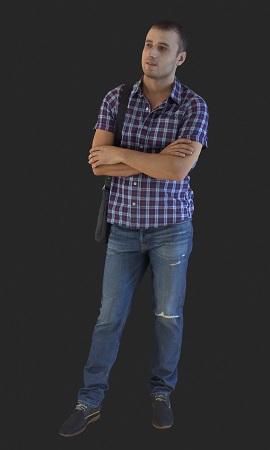 3D Models - 13 Posed People