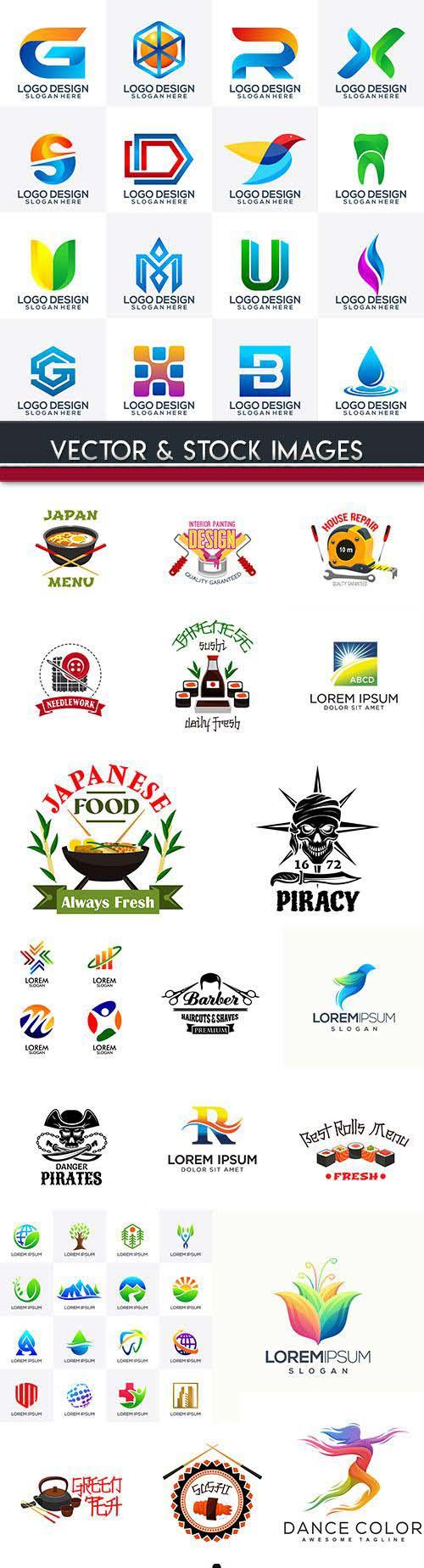 Creative business logos corporate company design 60