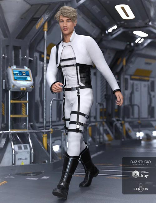 Sky Point Academy Outfit for Genesis 8 Male(s)