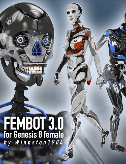 Fembot 3.0 for Genesis Female 8