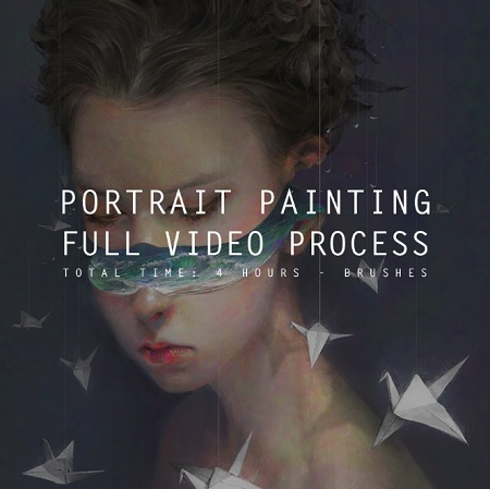 Gumroad - Hayla - Portrait digital painting Photoshop