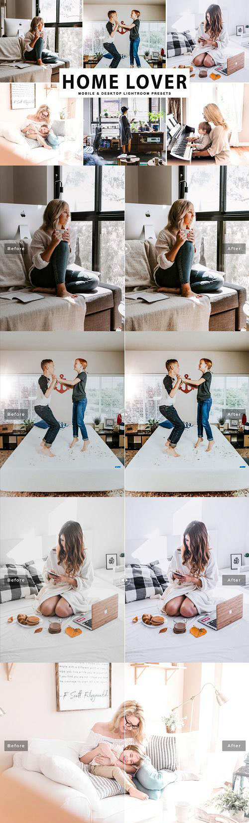 Home Lover Pro Lightroom Presets - 4050885