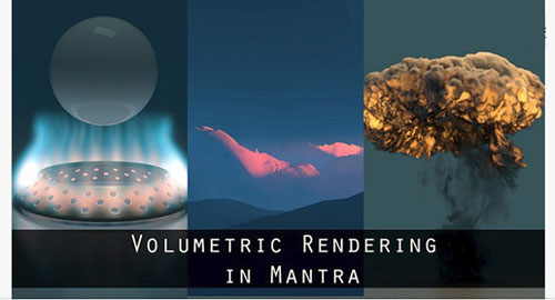 Gumroad - Houdini Volumetric Rendering with Mantra
