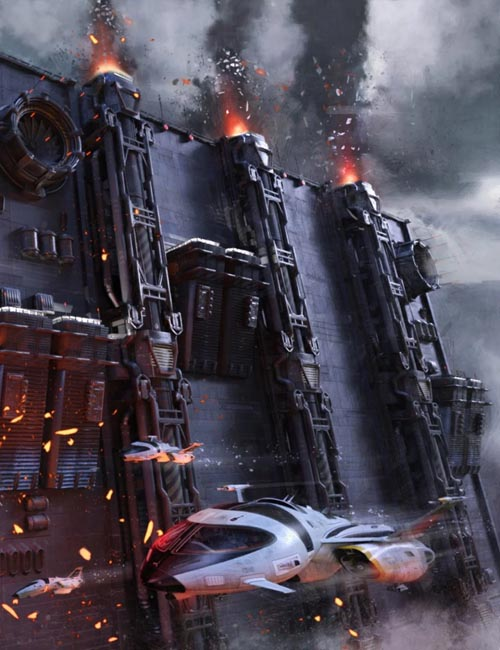 Sci-Fi Wall