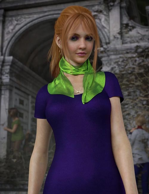 Daphni HD for Genesis 3 and 8 Female