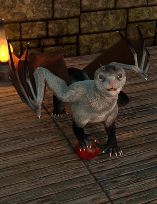 Oso Draco Furo for Daz Dragon 3