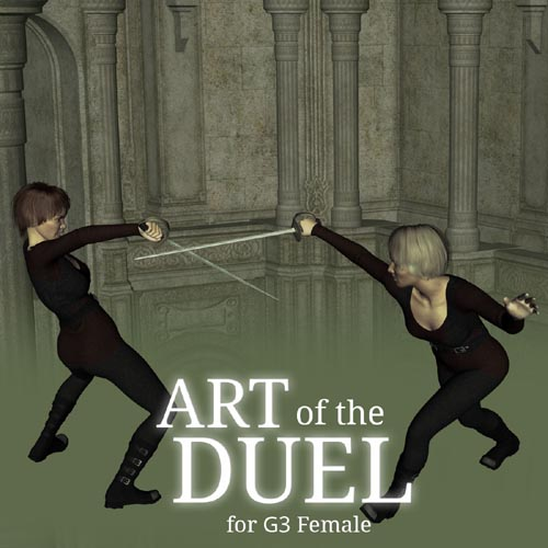 Art of the Duel for Genesis 3 Female