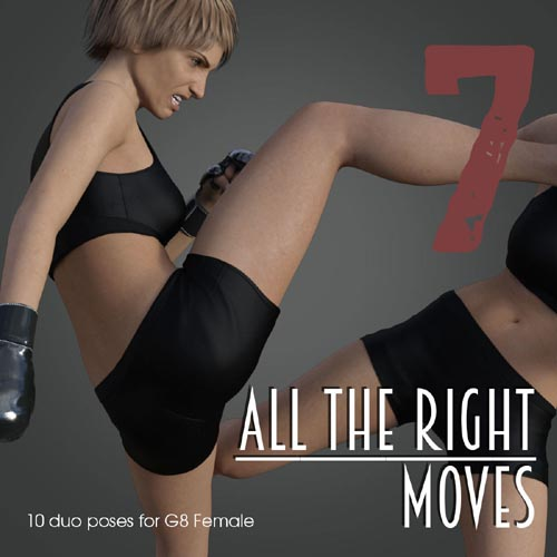 ALL THE RIGHT MOVES vol.7 for Genesis 8 Female
