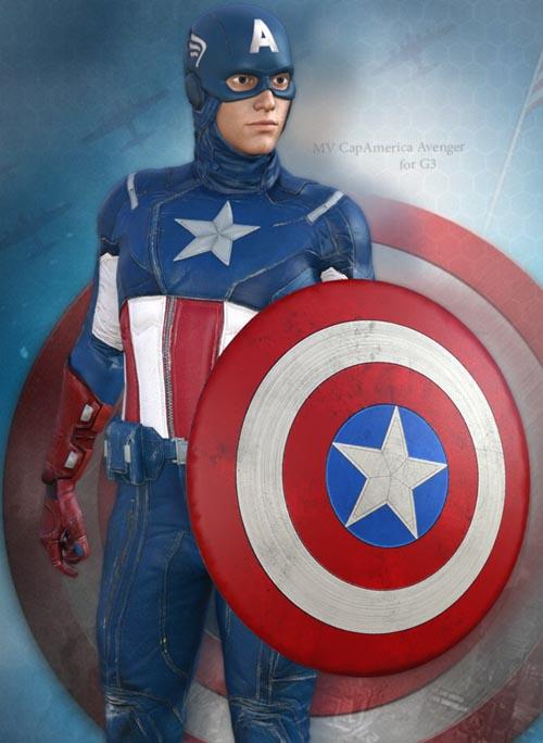 MV CapAmerica Avengers for G3