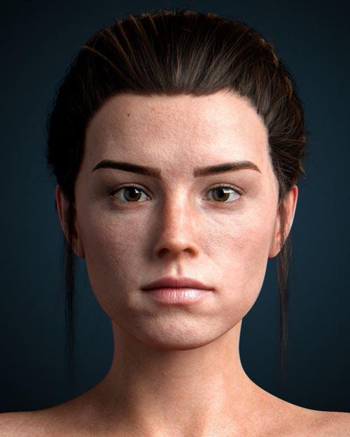 Isobel Redley for Genesis 8 Female