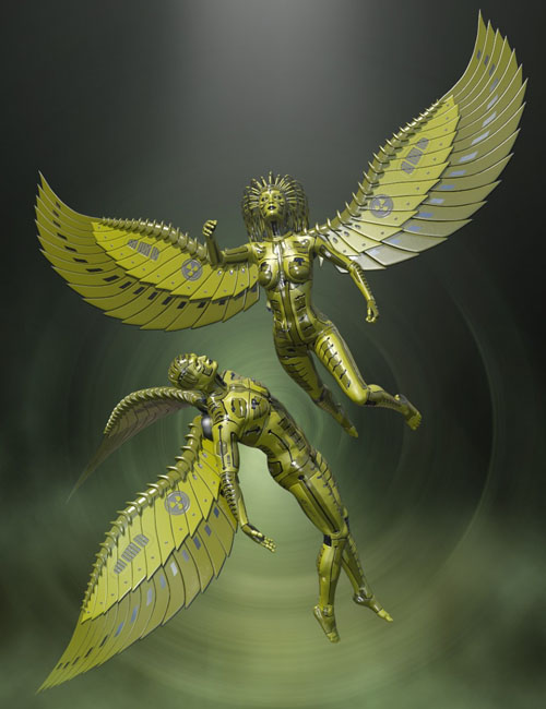 Mechtropolus Wings for Genesis 8