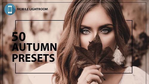 50 Autumn Mobile Lightroom Presets - 350423