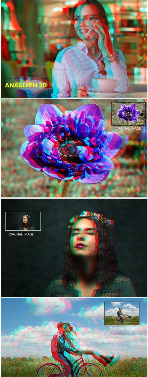 Anaglyph 3D - Photoshop Action 1760822 - 3900097