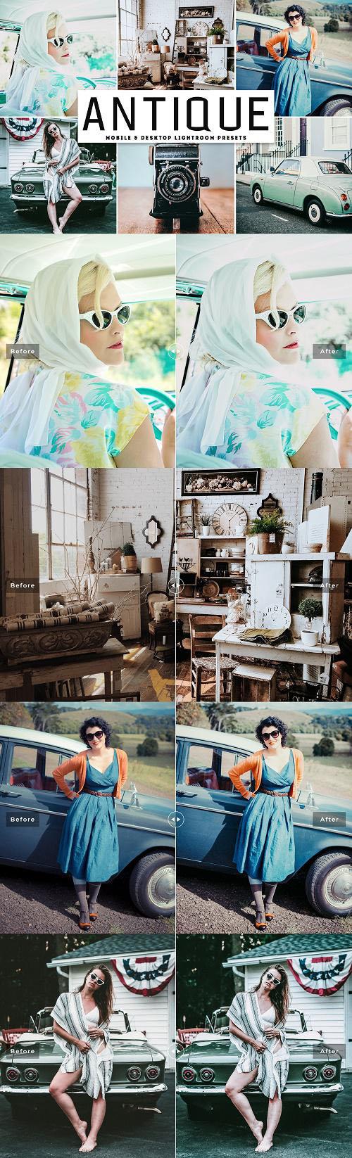 Antique Lightroom Presets Pack - 4092123
