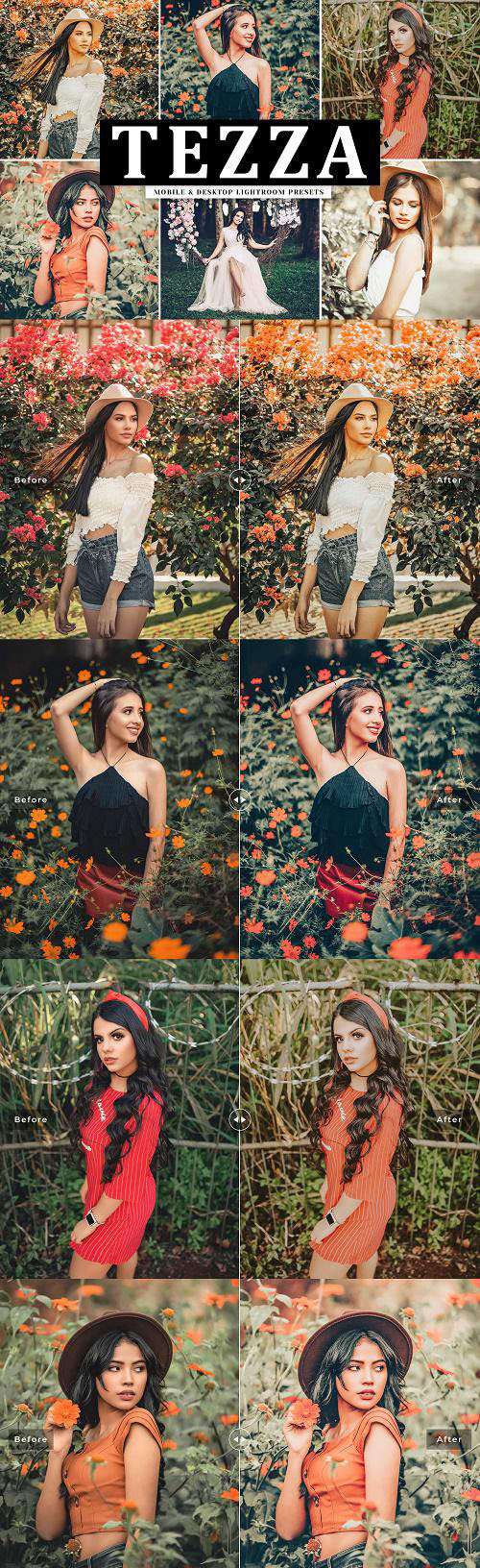Tezza Lightroom Presets Pack - 4084995