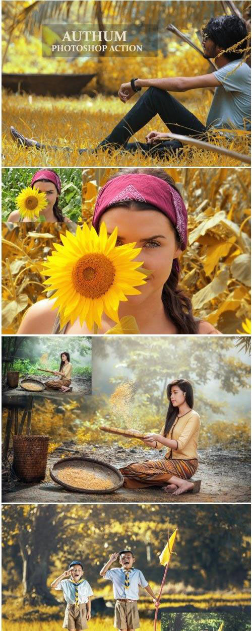 Authum Color - Photoshop Action 1760797