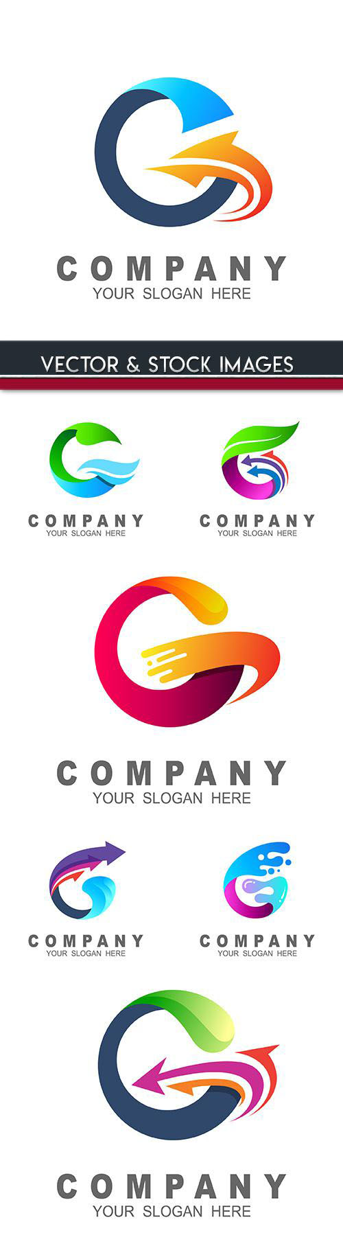 Creative business logos company design 28