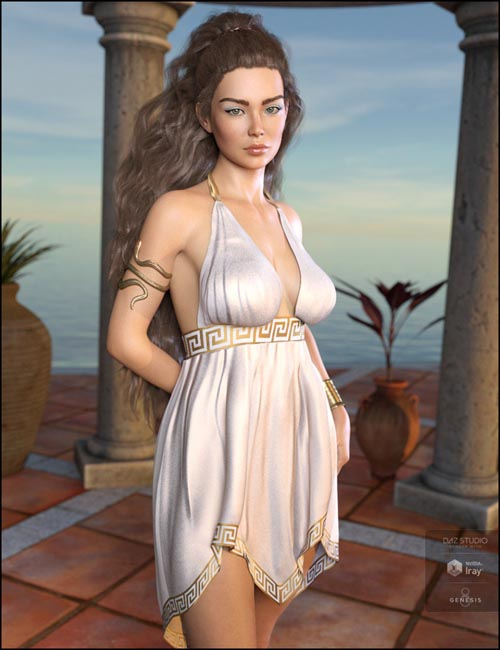 dForce Eleyna Outfit Textures