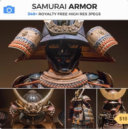 PHOTOBASH- Samurai Armor and Samurai Armor II