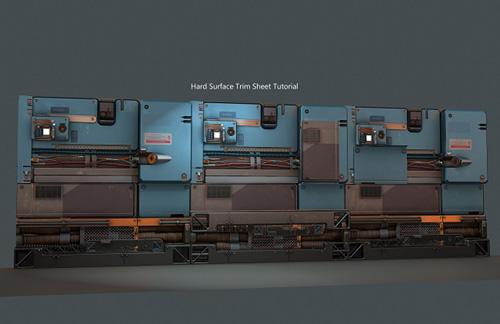 ArtStation - Hard Surface Trim Sheet Tutorial by Tyler Smith