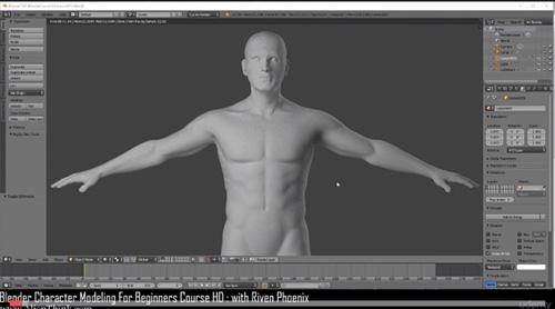 Udemy - Blender Character Modeling For Beginners HD