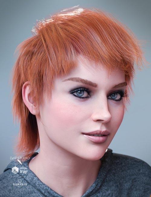 Fallow Hair for Genesis 8 Female(s)
