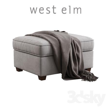West Elm / Henry Ottoman