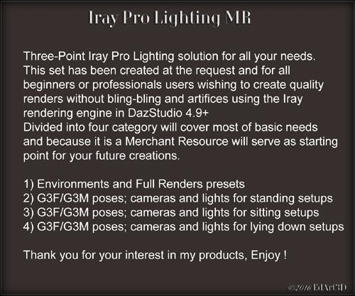 Iray Pro Lighting MR