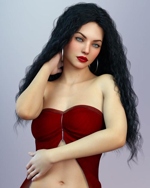 Kristy For Genesis 8 Female