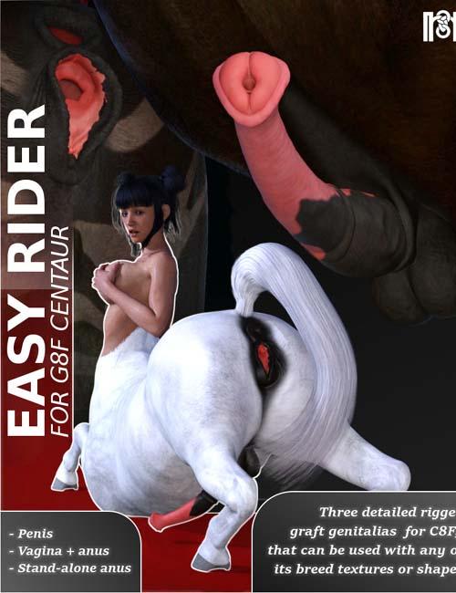 Easy Rider For Genesis 8 Female Centaur