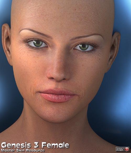 Master Skin Resource 11 - Genesis 3 Female + Genesis 8 Female
