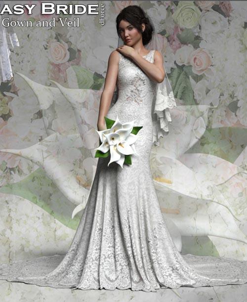 RP dForce Fantasy Bride