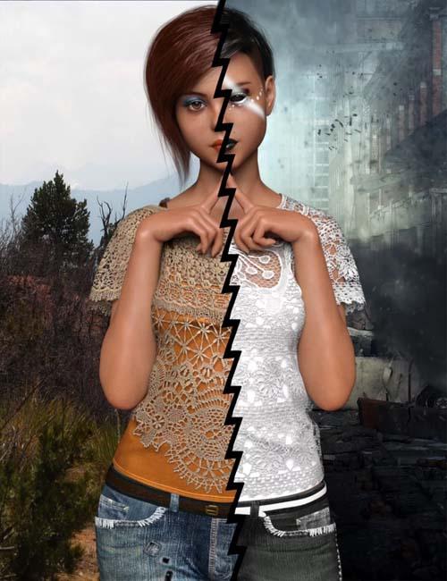 DE Greta for Teen Raven 8