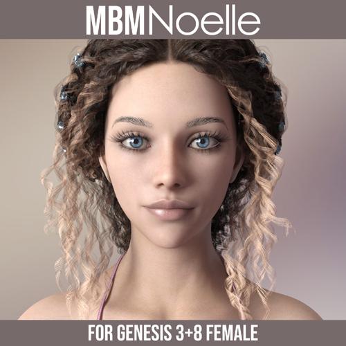 MbM Noelle for Genesis 3 & 8 Female
