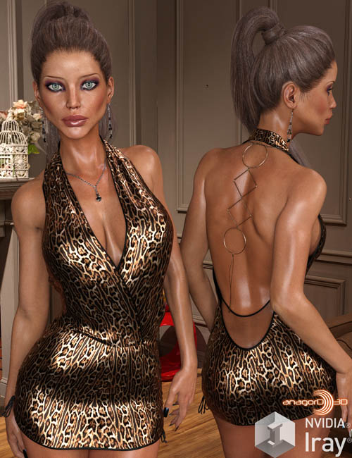 VERSUS - Lady Candy Dress for Genesis 3 Female