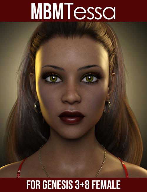 MbM Tessa for Genesis 3 & 8 Female