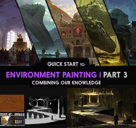 Cubebrush - Quick Start to Environment Painting Part 1 - 3
