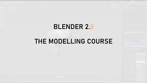 Skillshare - Blender 2.8 The Modelling Guide
