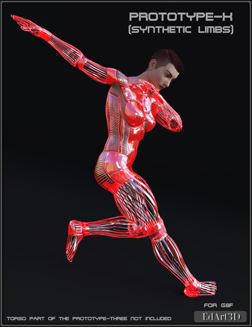 PROTOTYPE-X - Synthetic Limbs - for G8F