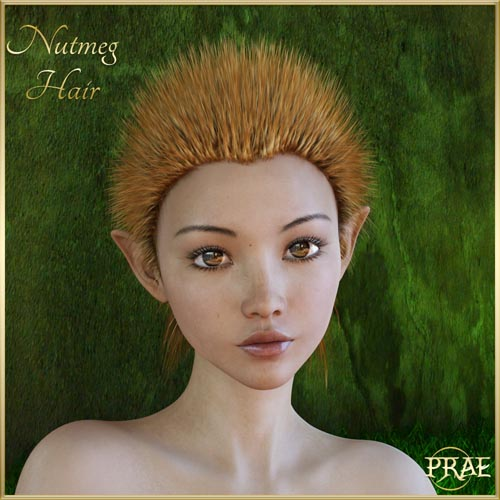 Prae-Nutmeg Hair
