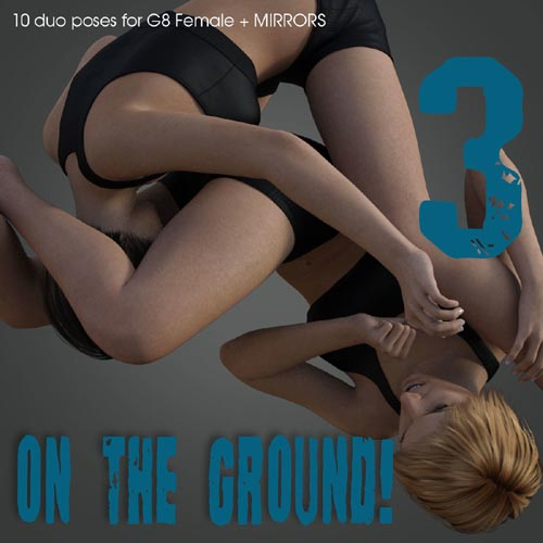 ON THE GROUND! vol.3 for Genesis 8 Female