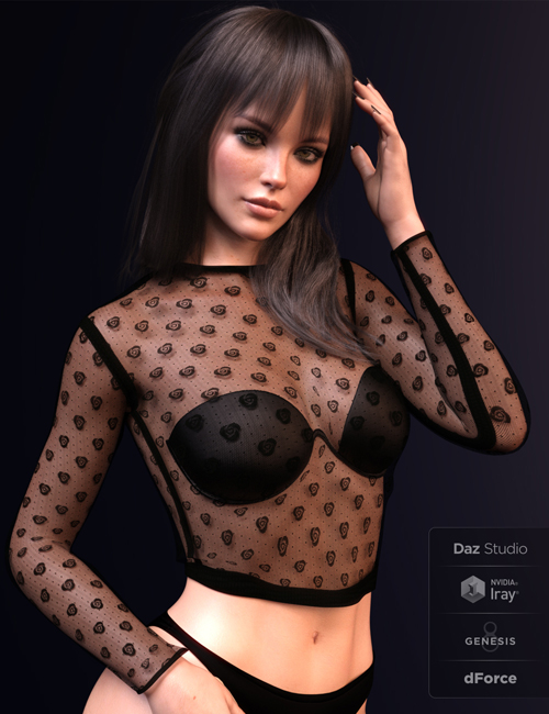 X-Fashion Cosabella Lingerie for Genesis 8 Female(s)