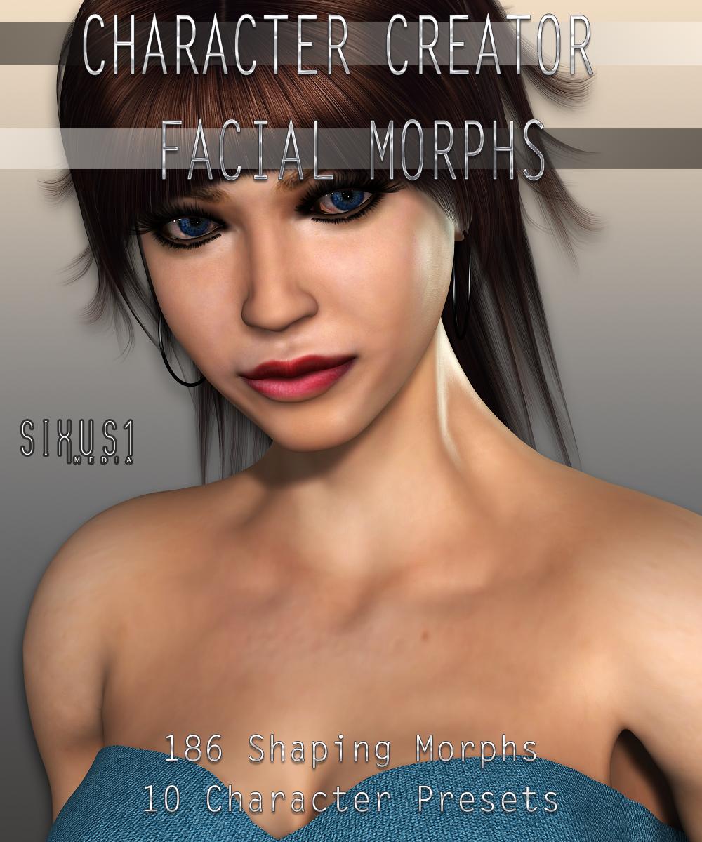S1M Scarlet: Character Creators Facial Morphs