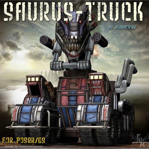 Saurus Truck - Exclusive