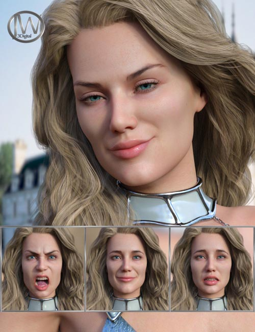 Perfect Goddess - Expressions for Genesis 8 Female and Ellithia 8